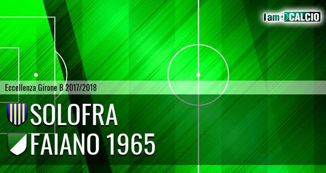 Solofra - Faiano 1965