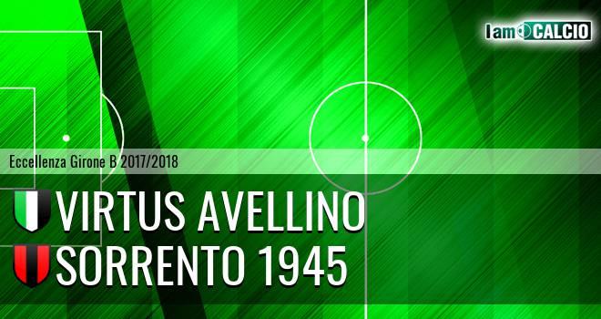 Virtus Avellino - Sorrento 1945