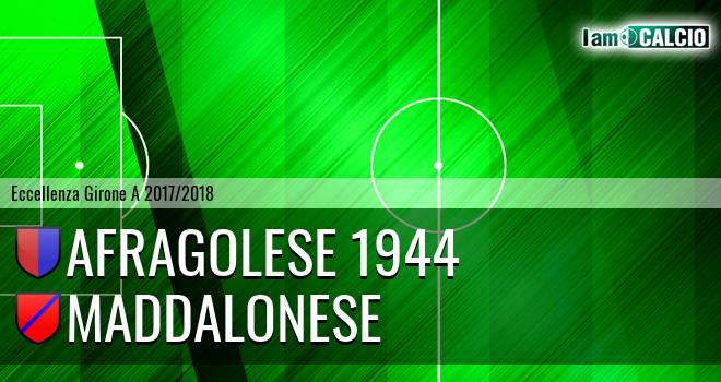 Afragolese 1944 - Maddalonese