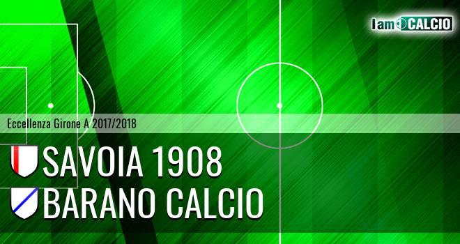 Savoia 1908 - Barano Calcio