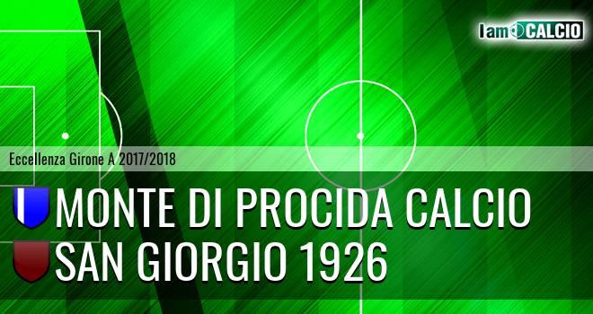 Monte di Procida Calcio - San Giorgio 1926