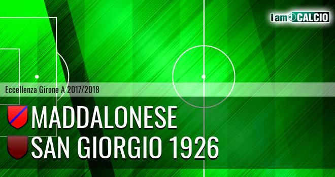 Maddalonese - San Giorgio 1926