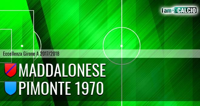 Maddalonese - Pimonte 1970