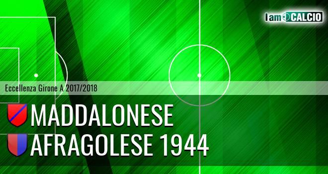 Maddalonese - Afragolese 1944