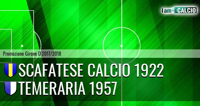 Scafatese Calcio 1922 - Temeraria 1957