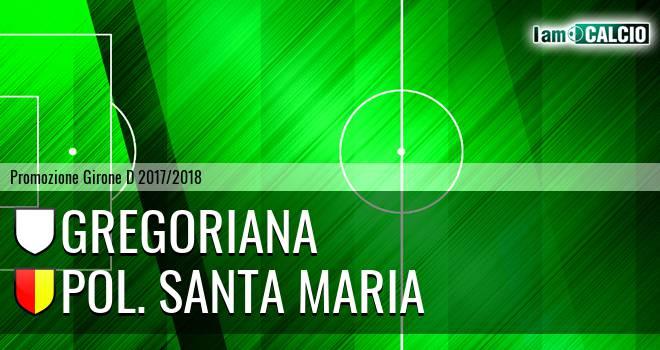 Gregoriana - Pol. Santa Maria 0-2. Cronaca Diretta 18/02/2018