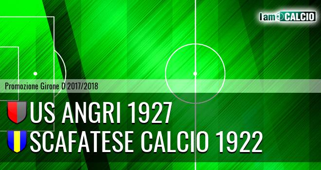 Us Angri 1927 - Scafatese Calcio 1922 0-1. Cronaca Diretta 18/02/2018