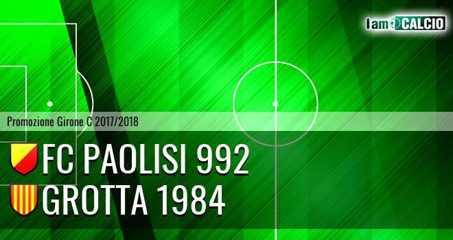 FC Paolisi 992 - Grotta 1984