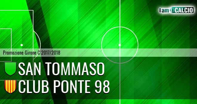 San Tommaso - Club Ponte 98