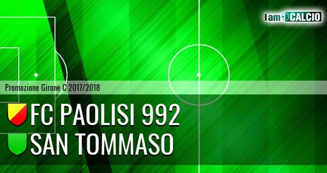 FC Paolisi 992 - San Tommaso