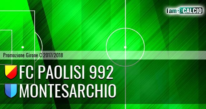FC Paolisi 992 - Montesarchio