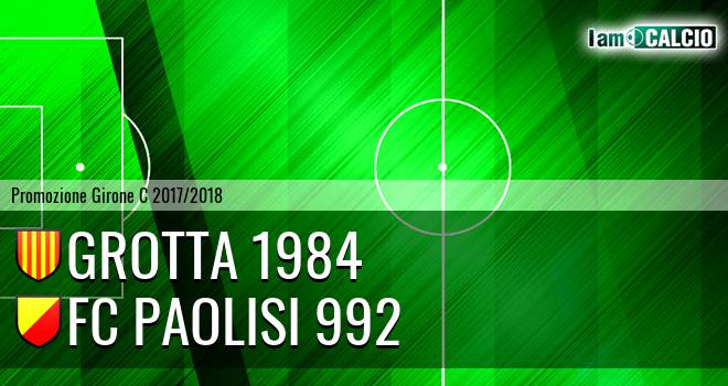 Grotta 1984 - FC Paolisi 992
