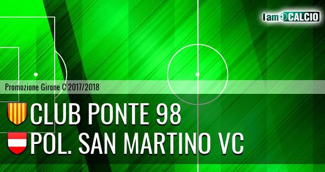 Club Ponte 98 - Pol. San Martino VC