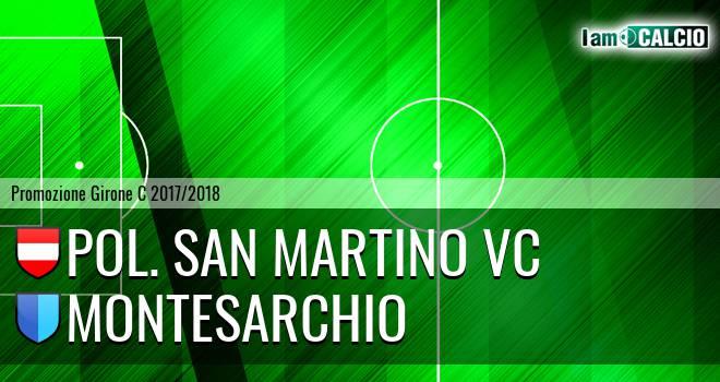 Pol. San Martino VC - Montesarchio