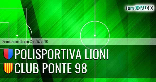 Polisportiva Lioni - Club Ponte 98 4-4. Cronaca Diretta 14/04/2018