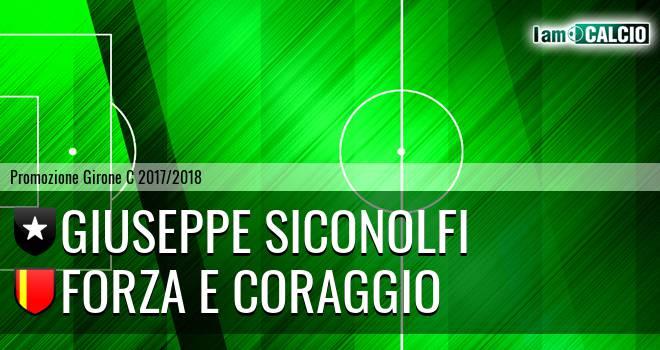 Giuseppe Siconolfi - Forza e Coraggio
