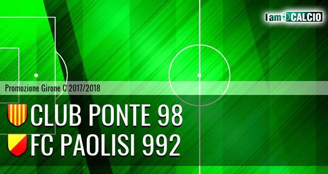 Ponte '98 - FC Paolisi 992