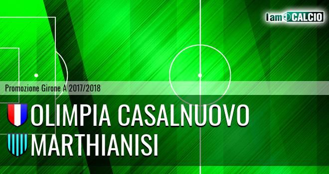Olimpia Casalnuovo - Marthianisi