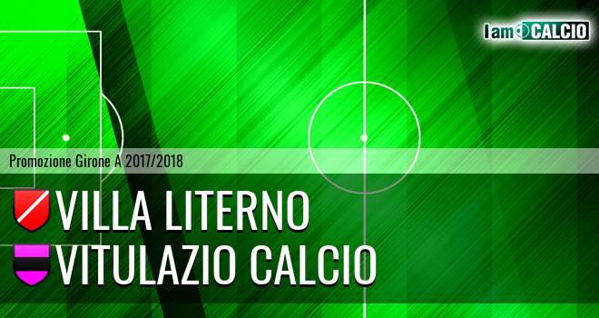 Villa Literno - Vitulazio Calcio