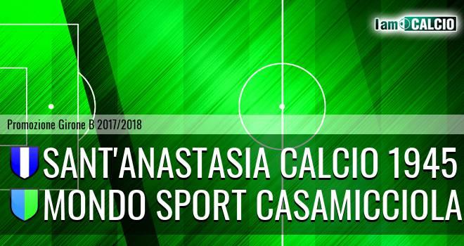 Sant'Anastasia Calcio 1945 - Mondo Sport Casamicciola Terme