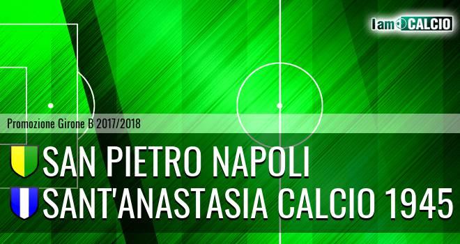 San Pietro Napoli - Sant'Anastasia Calcio 1945