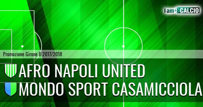 Afro Napoli United - Mondo Sport Casamicciola Terme