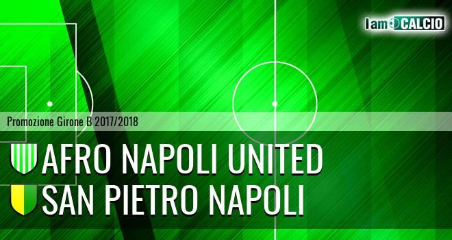 Afro Napoli United - San Pietro Napoli