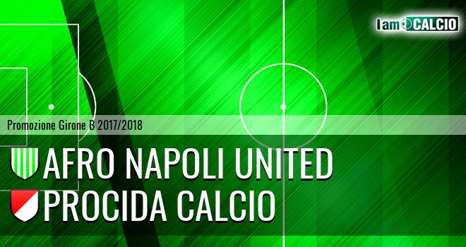 Afro Napoli United - Procida Calcio