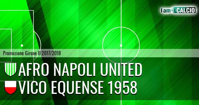 Afro Napoli United - Vico Equense 1958