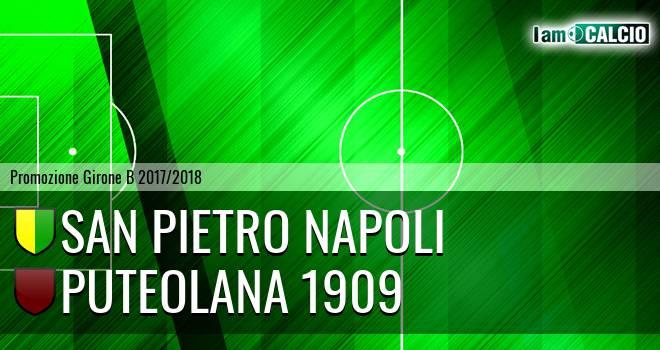 San Pietro Napoli - Puteolana 1909