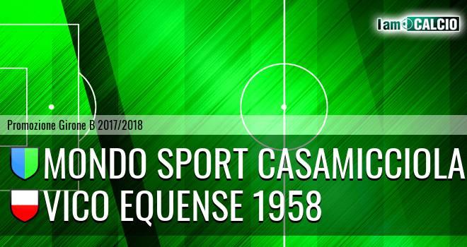 Mondo Sport Casamicciola Terme - Vico Equense 1958
