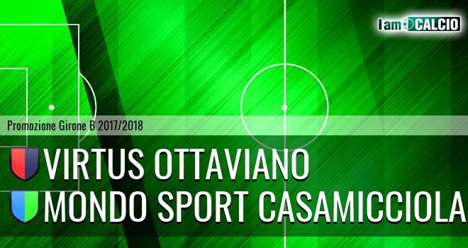 Virtus Ottaviano - Mondo Sport Casamicciola Terme