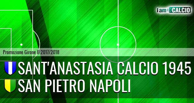 Sant'Anastasia Calcio 1945 - San Pietro Napoli