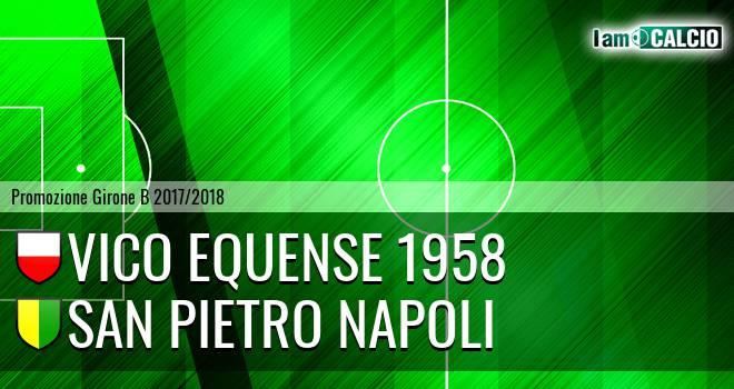 Vico Equense 1958 - San Pietro Napoli
