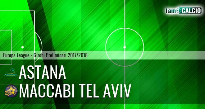 Astana - Maccabi Tel Aviv