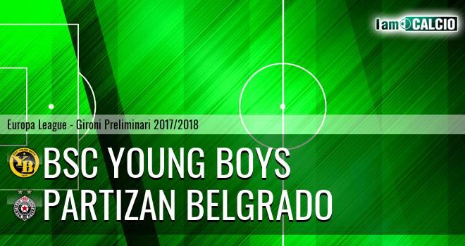 BSC Young Boys - Partizan Belgrado
