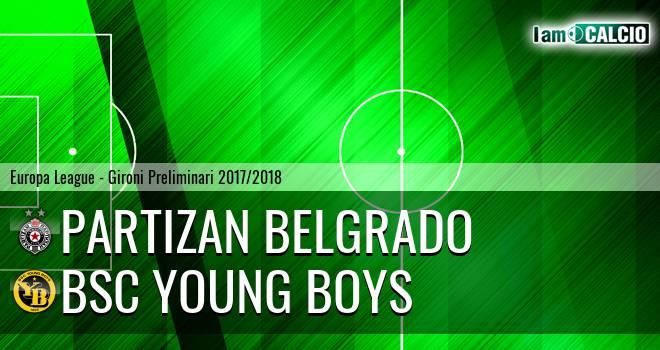 Partizan Belgrado - BSC Young Boys