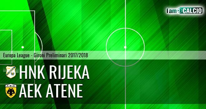 HNK Rijeka - AEK Atene