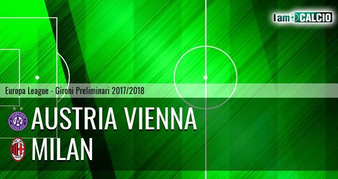 Austria Vienna - Milan