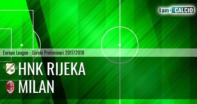 HNK Rijeka - Milan