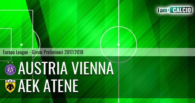 Austria Vienna - AEK Atene