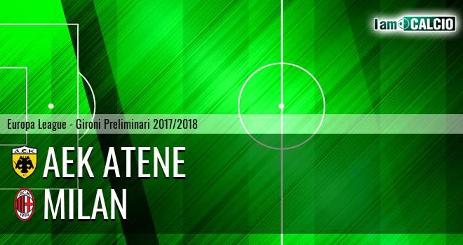 AEK Atene - Milan
