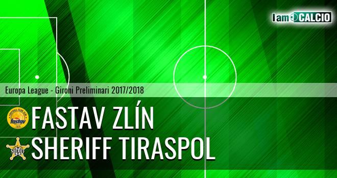 Fastav Zlín - Sheriff Tiraspol