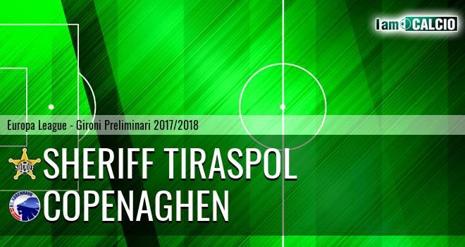 Sheriff Tiraspol - Copenaghen
