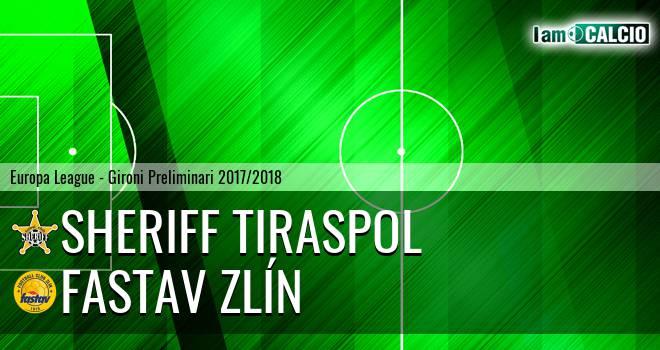 Sheriff Tiraspol - Fastav Zlín