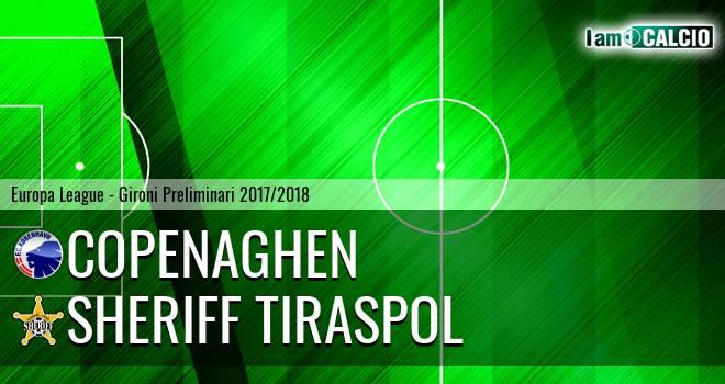 Copenaghen - Sheriff Tiraspol