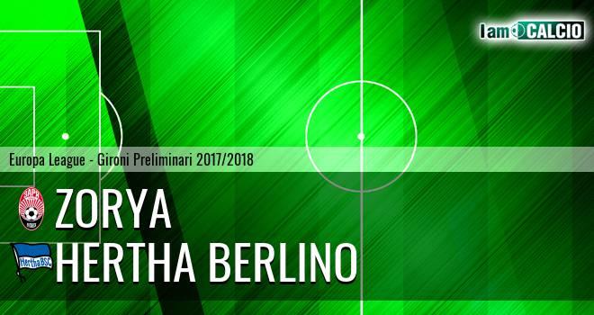 Zorya - Hertha Berlino