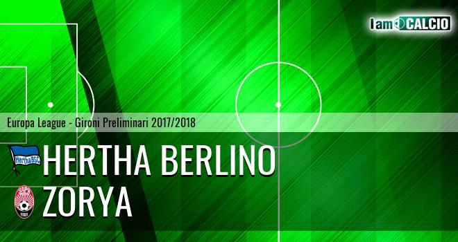 Hertha Berlino - Zorya