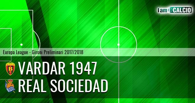Vardar 1947 - Real Sociedad