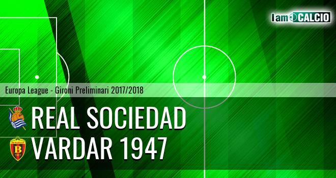 Real Sociedad - Vardar 1947